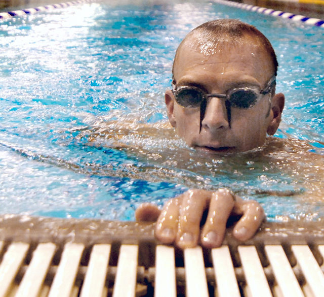swimmer's eyes