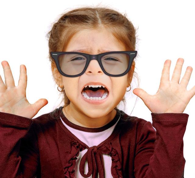 children wear contact lenses